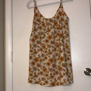 Fall Sunflower Dress